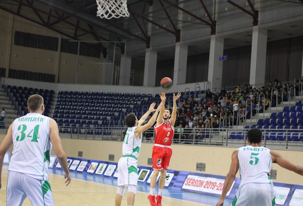 Rustavi beat Cactus in the final period