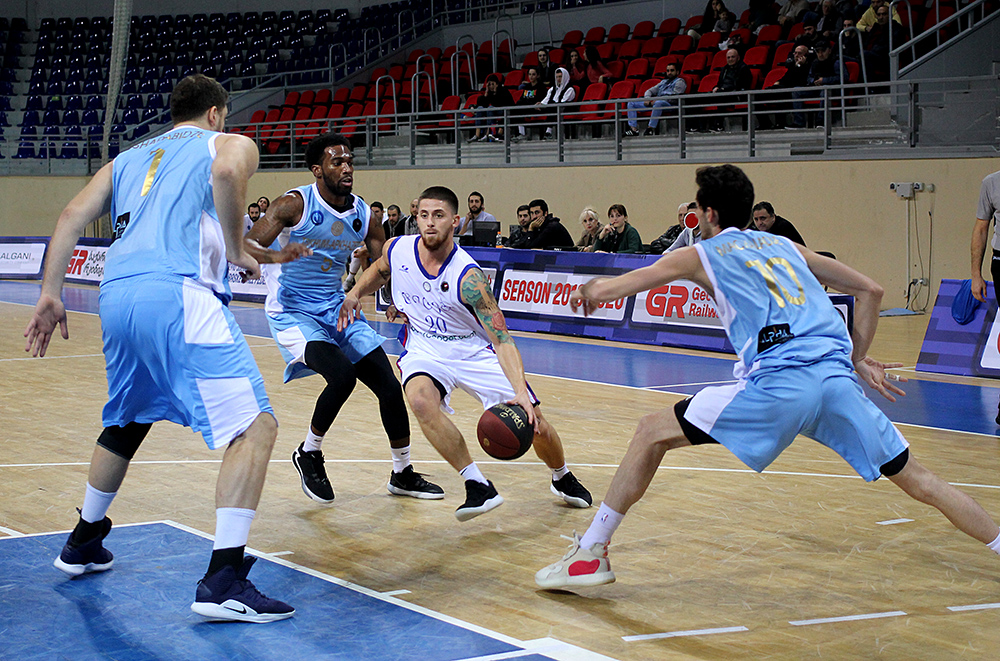 Titebi defeated Tskhum-Apkhazeti in the second overtime – 81:80