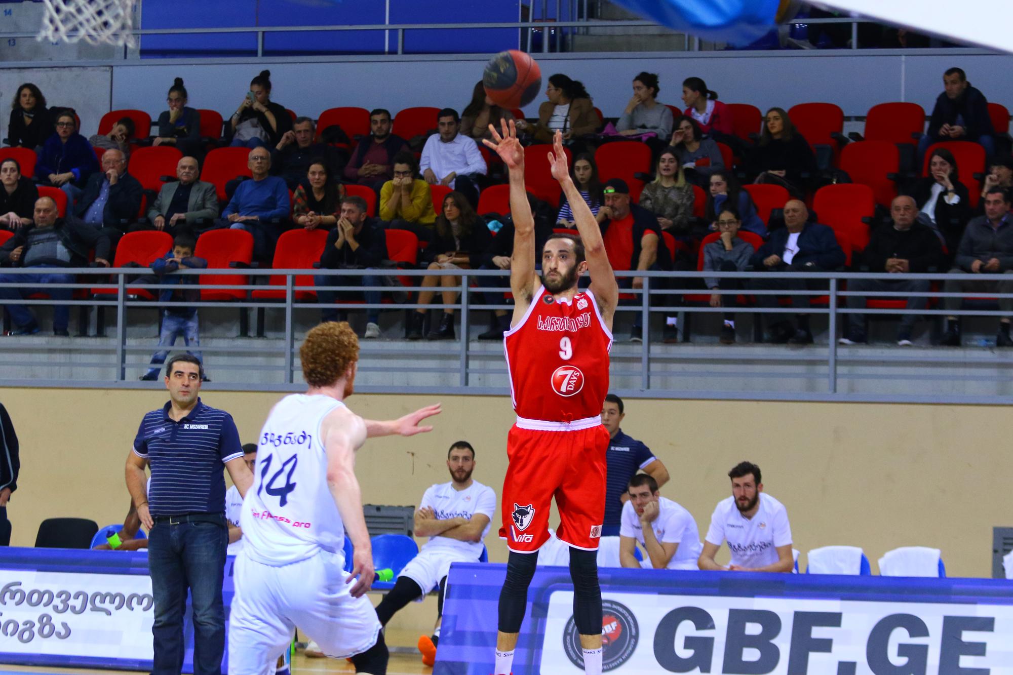 Rustavi beats Mgzavrebi 84:72