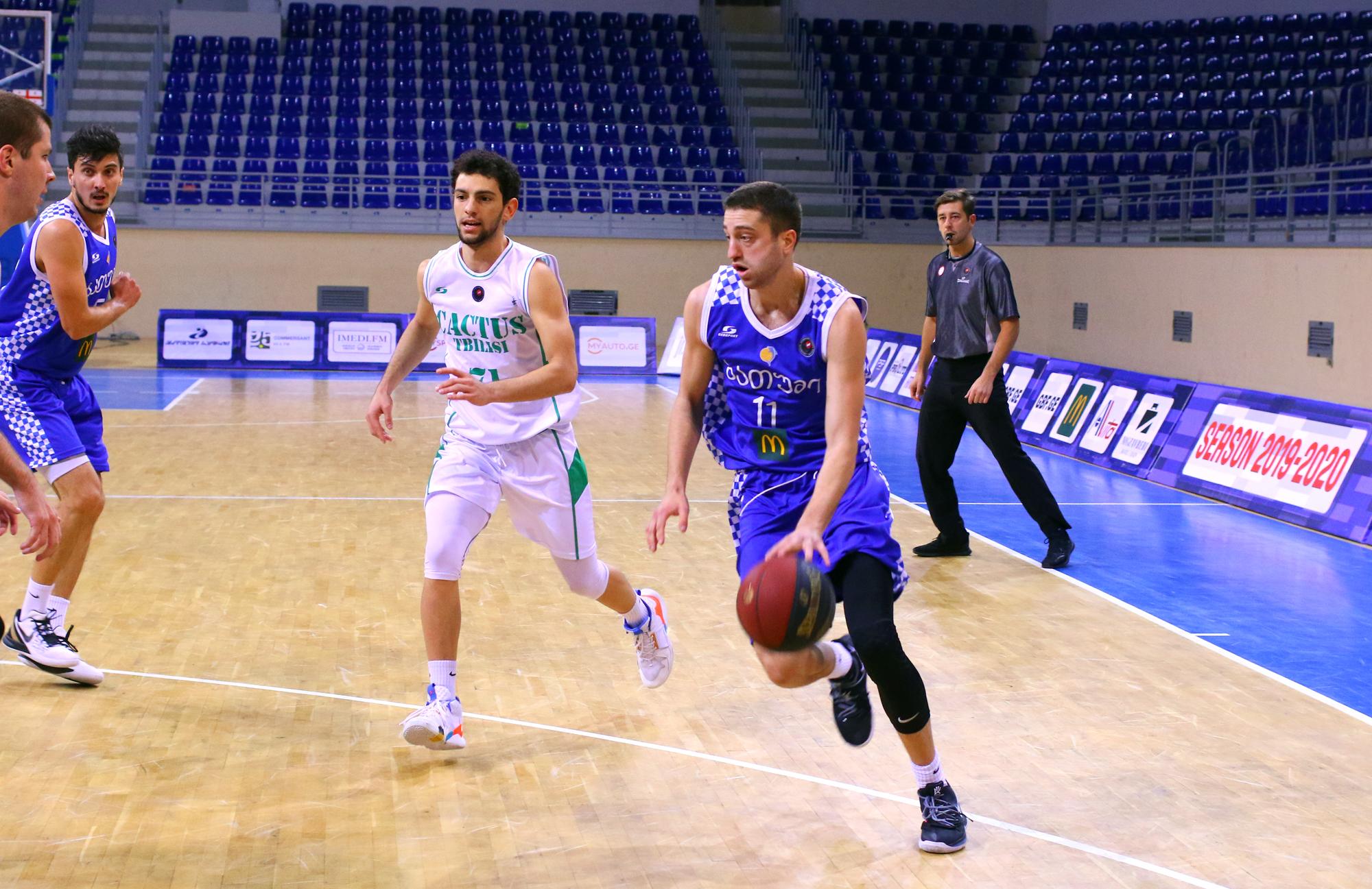 Batumi's convincing victory against Cactus