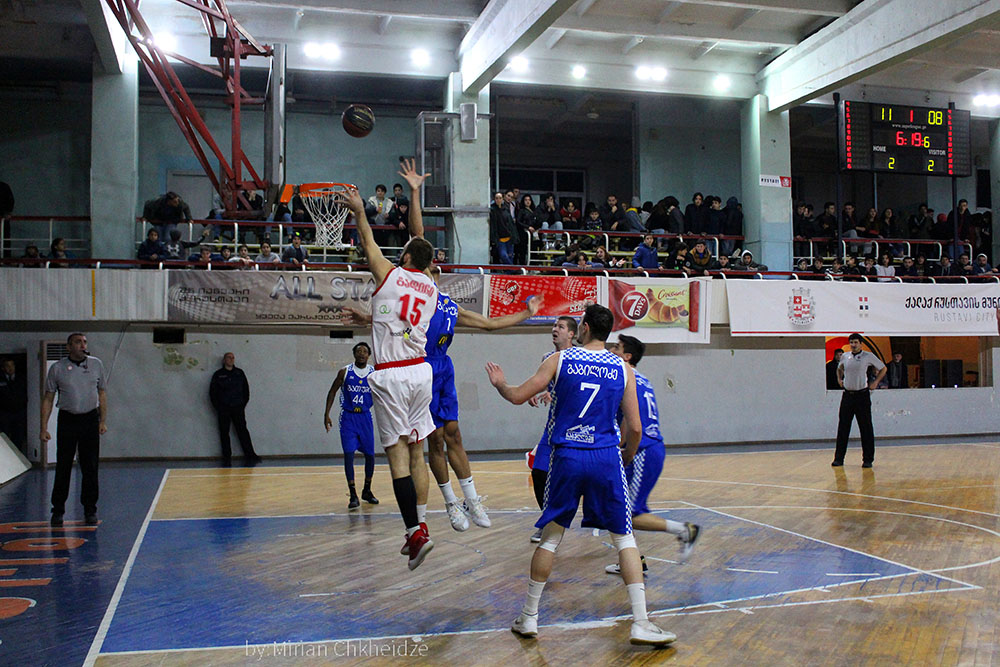 Rustavi beats Batumi in the final match of the 7th round
