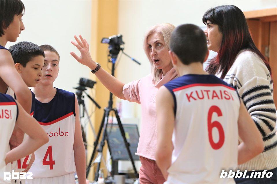 ქუთაისის 13-წლამდელთა გუნდმა ბალტიის ლიგაში 5-დან 3 მატჩი მოიგო