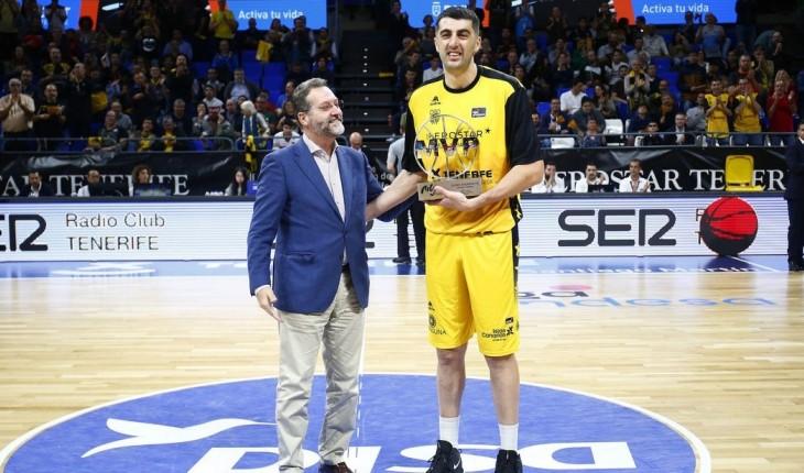 ესპანეთის ჩემპიონატის ორგანიზატორმა ACB-მ 2020 წლის საუკეთესოდ მოთამაშედ გიორგი შერმადინი აღიარა