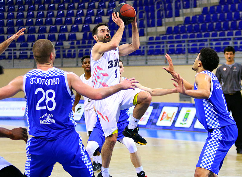 Vera beat the leader of the Superleague – Batumi