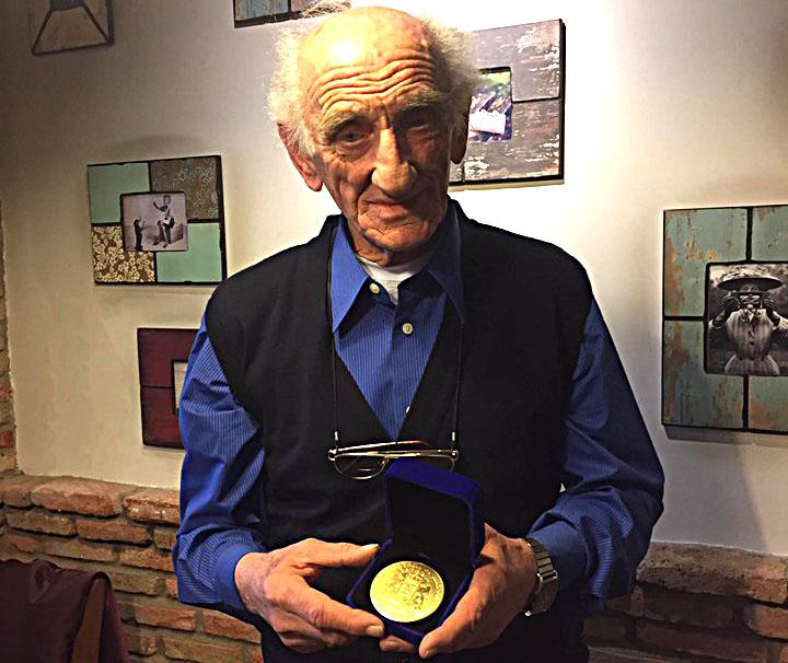 ანტონ კაზანჯიანს 80 წლის იუბილეზე ქართული სპორტის რაინდის წოდება მიენიჭა