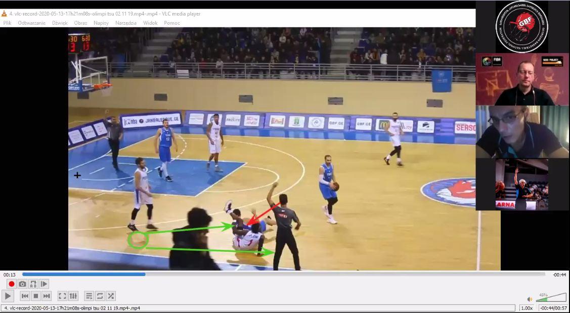 FIBA SCOD – მსაჯთა განვითრების პროგრამის მესამე ონლაინ-სემინარი