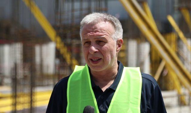 თბილისში ახალი სპორტის სასახლის მშენებლობა შეუფერხებლად მიმდინარეობს