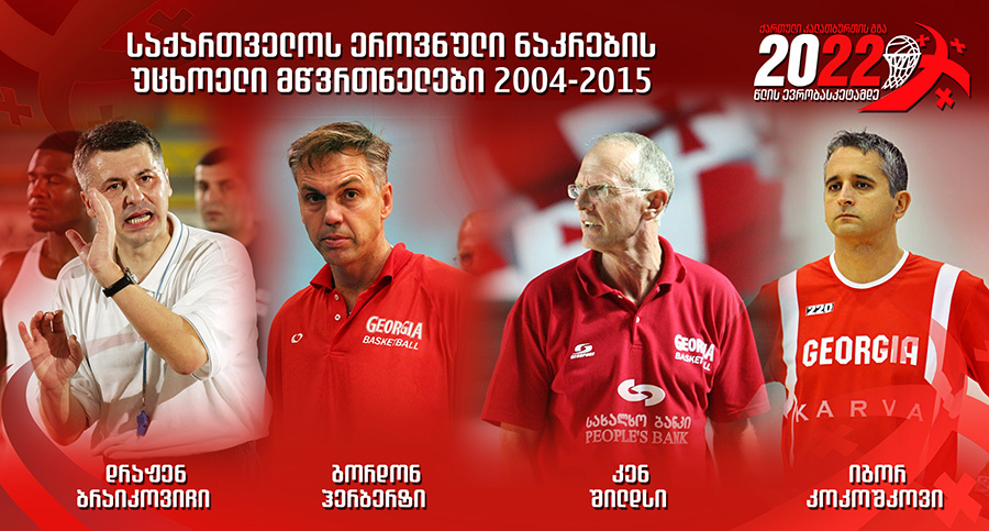 The Road of Georgian Basketball - Foreign coaches of the national team