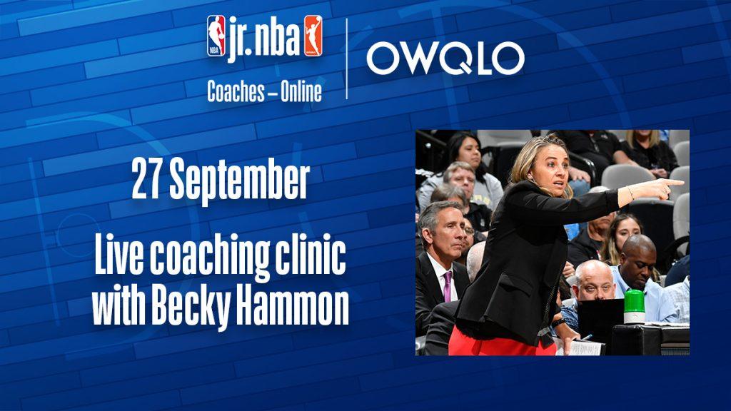 Jr. NBA Coaches - Online - BECKY HAMMON