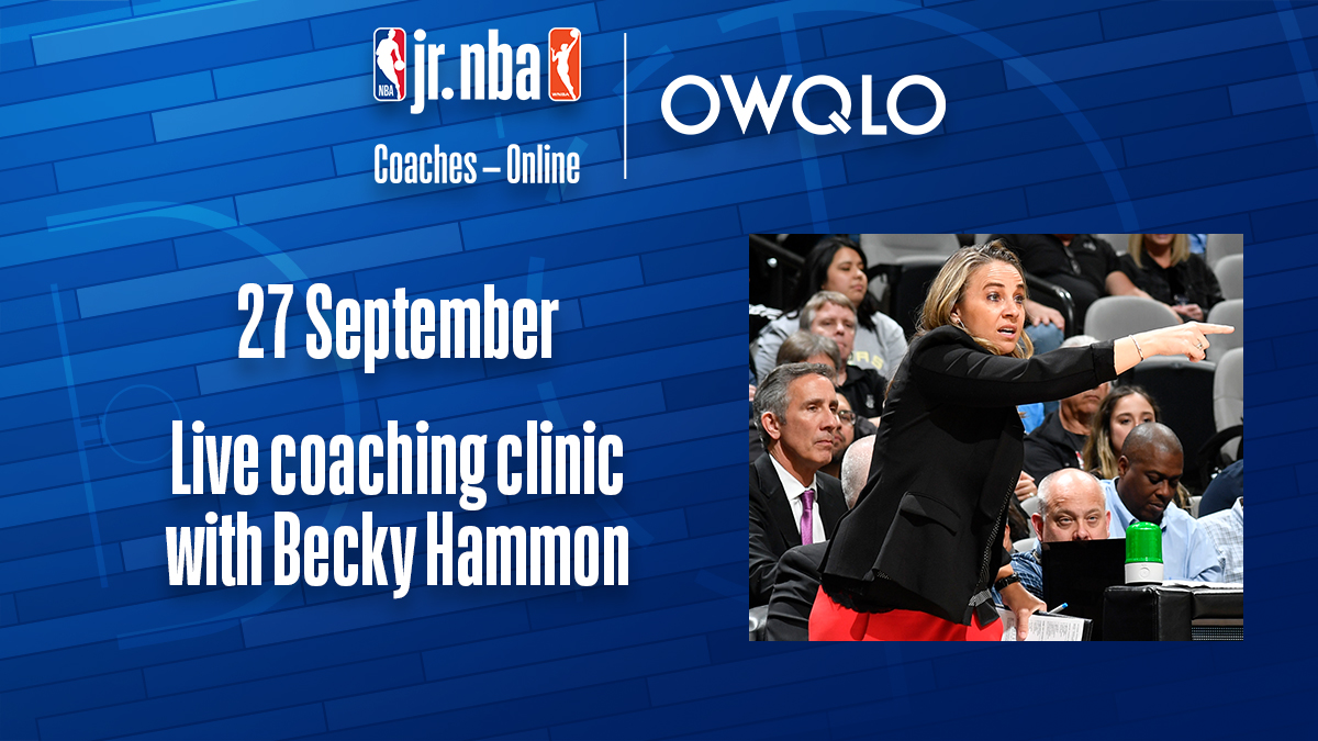 Jr. NBA Coaches - Online - BECKY HAMMON