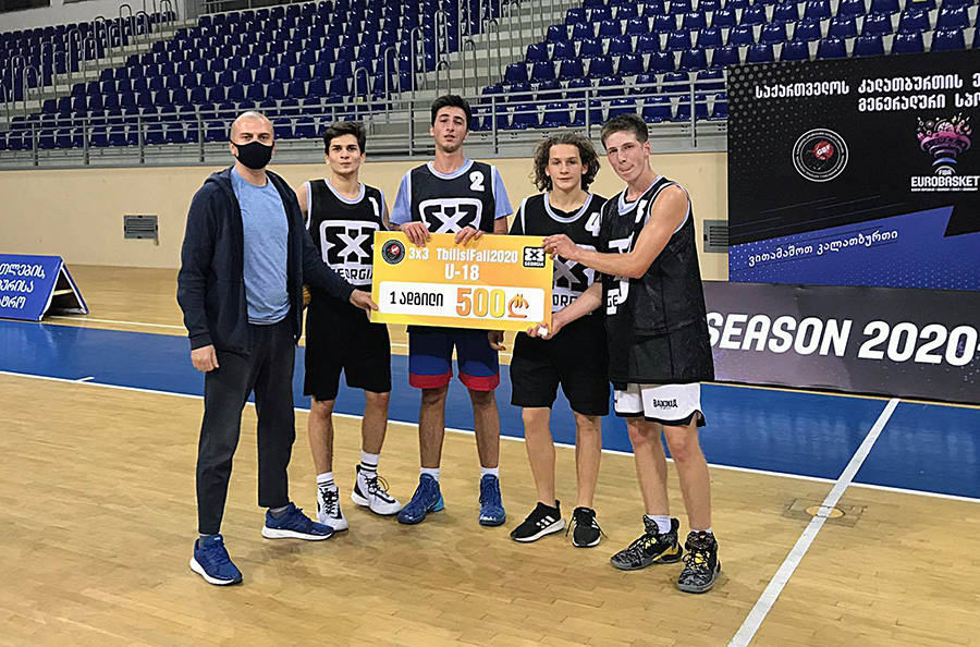 Tbilisi Fall-ის 18-წლამდელთა 3×3 საკალათბურთო ტურნირი Dream Team-მა მოიგო