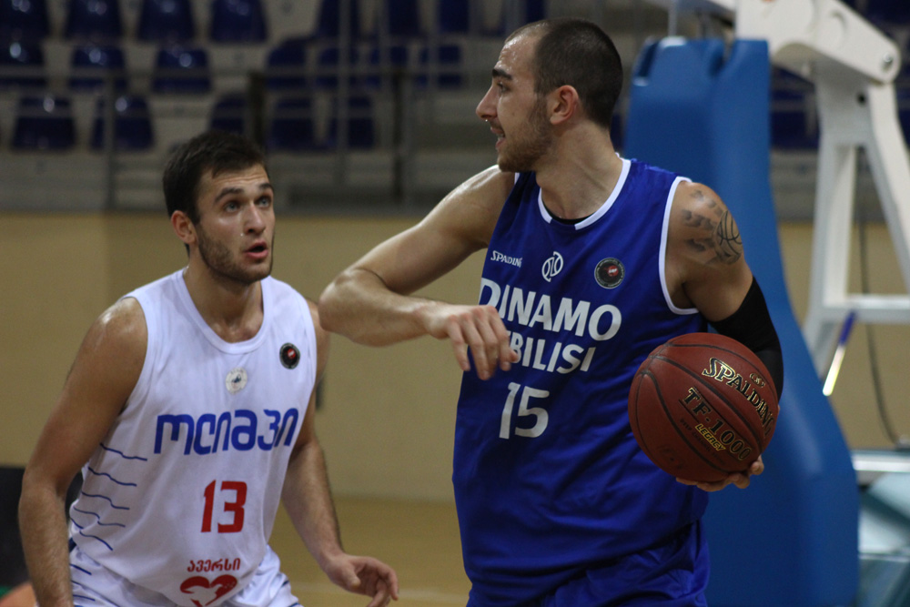 In the last match of the first round of the Super League, Dinamo defeated Olimpi