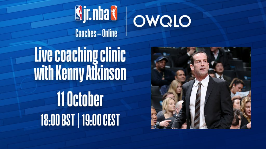 Jr. NBA Coaches - Online - Kenny Atkinson