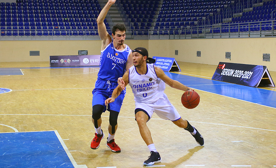 Dinamo beat Batumi in the final period