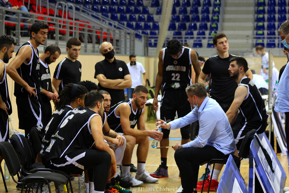 Rustavi beat Cactus in the final period