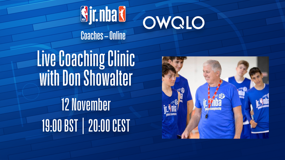 Jr. NBA Coaches - Online - DON SHOWALTER / NOVEMBER 12
