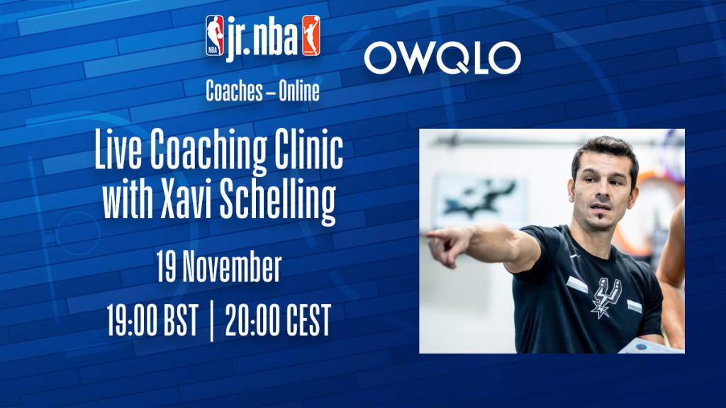 Fwd: Jr. NBA Coaches - Online - Xavi Schelling / NOVEMBER 19