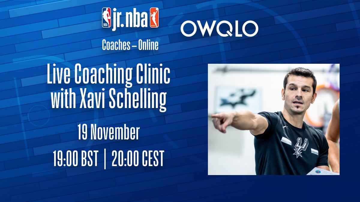 Fwd: Jr. NBA Coaches - Online - Xavi Schelling / NOVEMBER 19