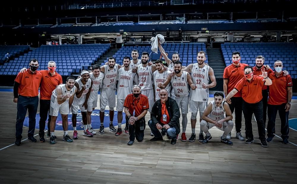 Congratulations! Georgian national team defeated Switzerland after Finland!
