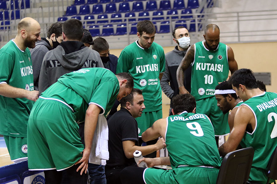 Kutaisi meets the New Year as a sole leader of the Superleague