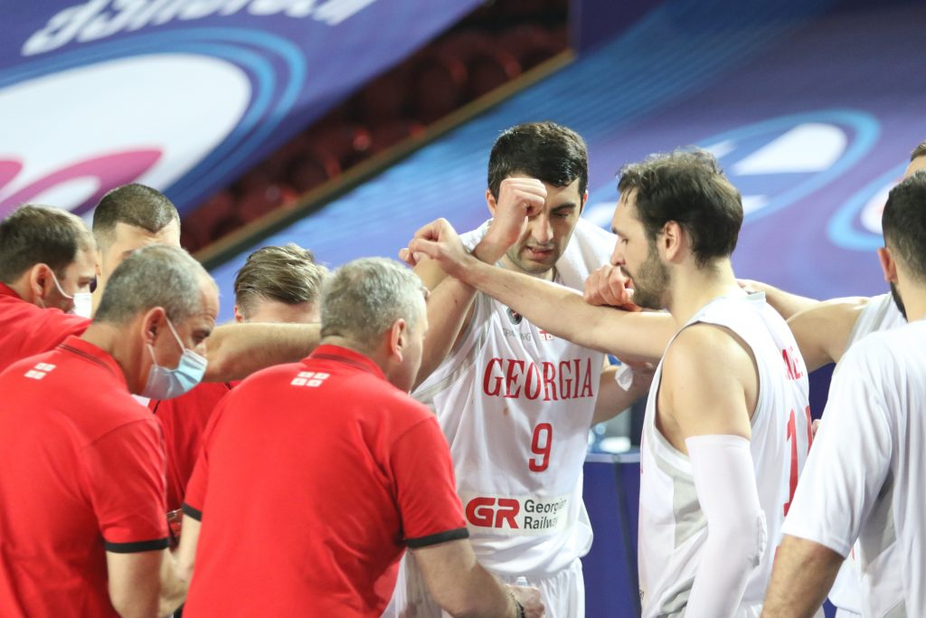 Shermadini's assist and Sanadze's three-pointer is in the top 10 in FIBA's favorite moments