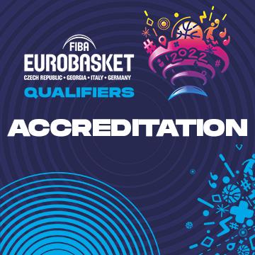 მედია-აკრედიტაციები 2022 წლის ევროპის ჩემპიონატის საკვალიფიკაციო ეტაპის მატჩებზე!