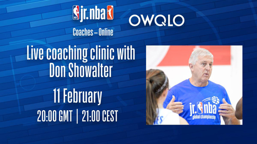 Jr. NBA Coaches - Online - DON SHOWALTER / FEB 11