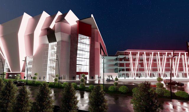 Development of the New Georgian Arena – ახალი საკალათბურთო დარბაზის მშენებლობა