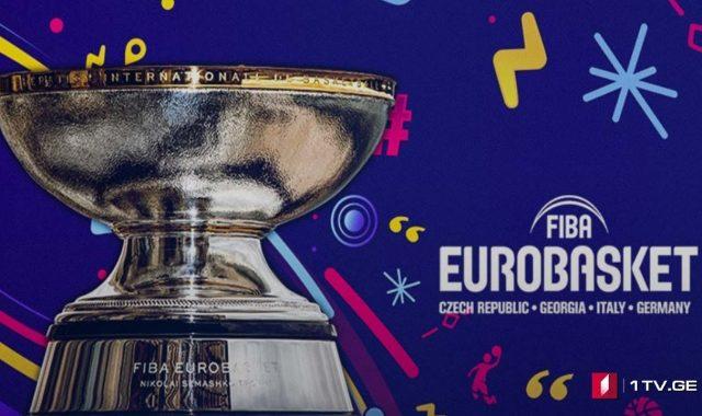 Eurobasket2022-ის  წილისყრა