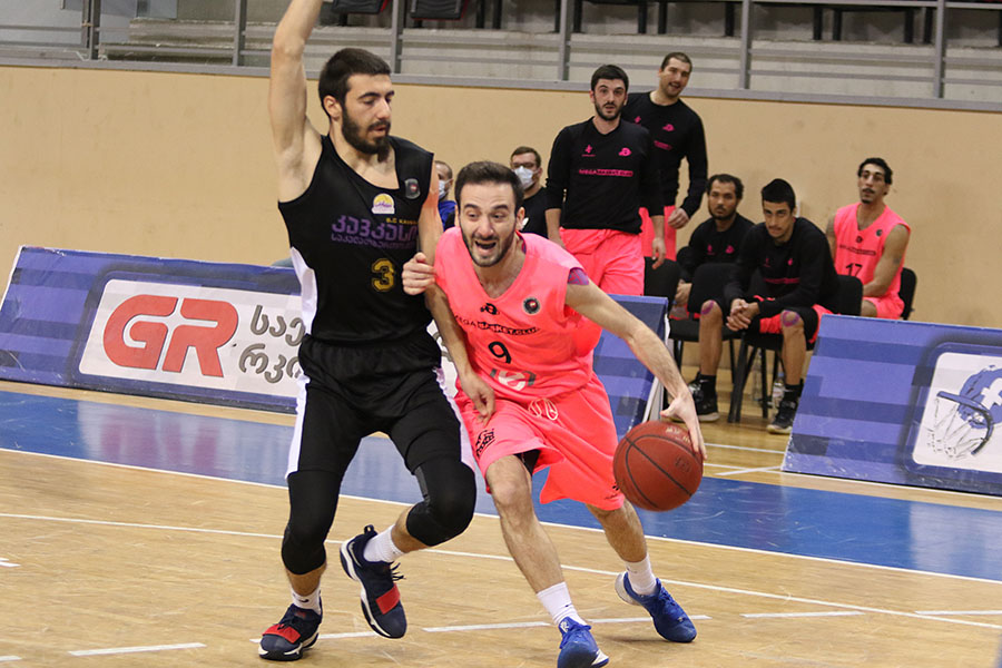 8th round of A League: Victories of Mega, Orbi and Zestaponi