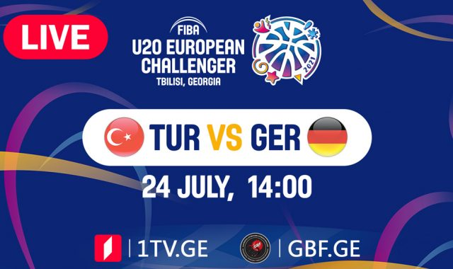 LIVE! Turkey VS Germany #FIBAU20EUROPE