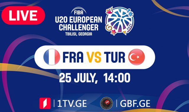 LIVE! France VS Turkey #FIBAU20EUROPE