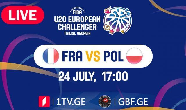 LIVE! France VS Poland #FIBAU20EUROPE