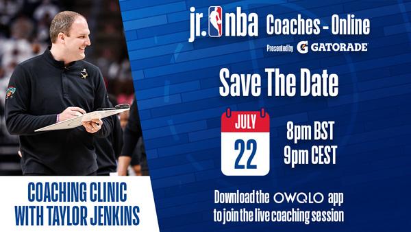 Jr. NBA-ის სამწვრთნელო ონლაინ სესია