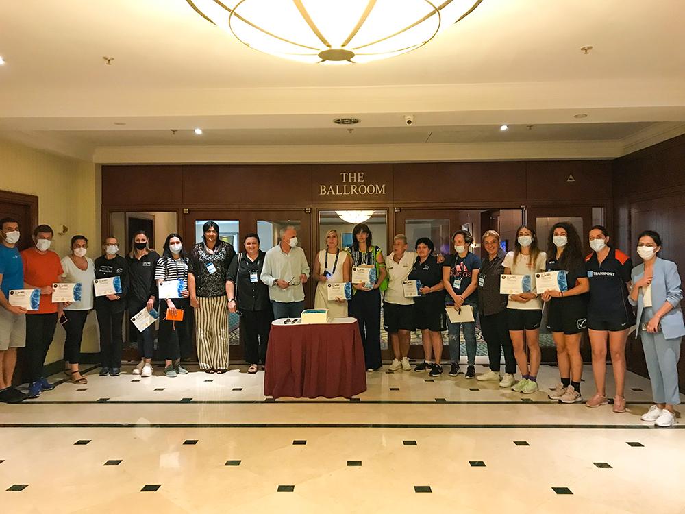 """ფიბას პროგრამის, """"ტაიმაუტ2""""-ის ფარგლებში თბილისში სემინარი """"ქალები ქართულ კალათბურთში"""" გაიმართა"""