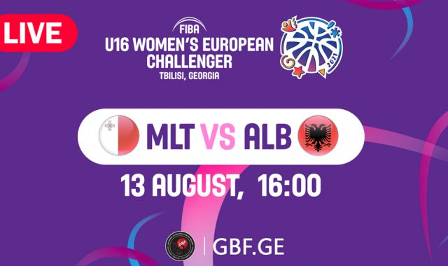 LIVE! Malta VS Albania #FIBAU16EUROPE