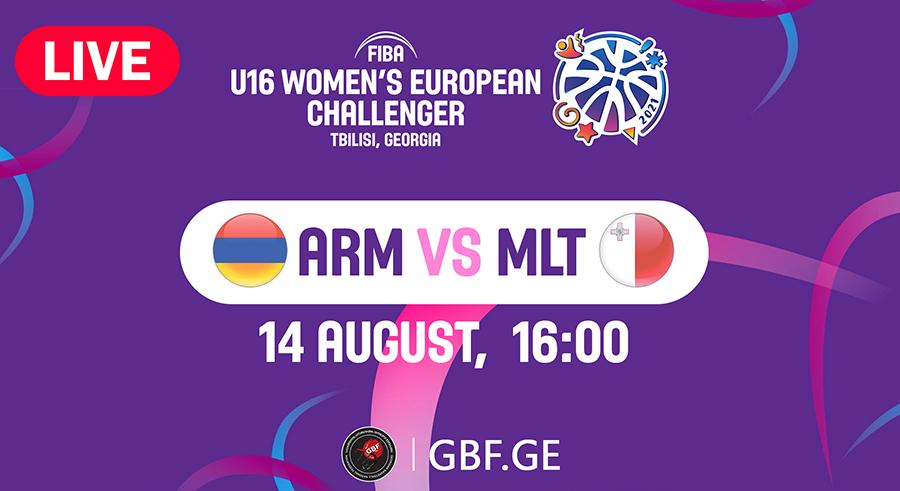 LIVE!  Armenia VS Malta  #FIBAU16EUROPE