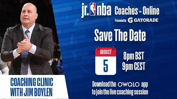 Jr. NBA-ის მორიგი სამწვრთნელო ონლაინ სესია