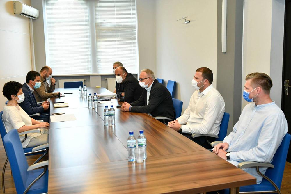 მინისტრი თეა წულუკიანი კალათბურთის ევროპის ჩემპიონატისთვის მზადების პროცესს გაეცნო
