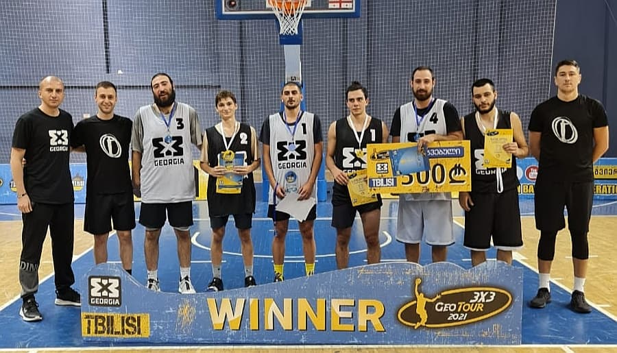Simonebi has joined the teams that reached the final stage of 3x3 GeoTour 2021
