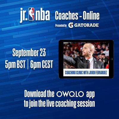 LIVE SESSION: Jr. NBA Coaches - Online - Jordi Fernandez