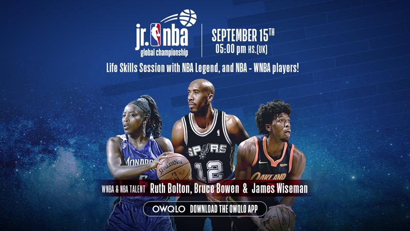 Jr. NBA-ს ლაივ კლინიკა
