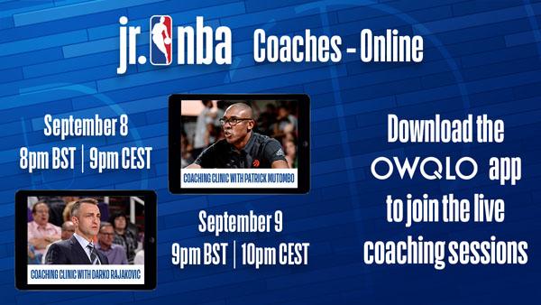 Jr. NBA-ის სამწვრთნელო პროგრამა
